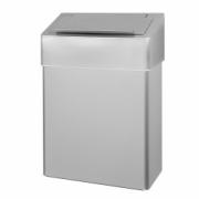 1104-Sanitary bin 10 l, stainless steel