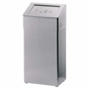 1113-Waste bin, 50 l, stainless steel