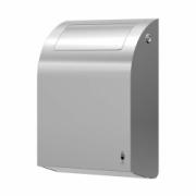 279-stainless DESIGN mini waste bin, 11 l with flap lid