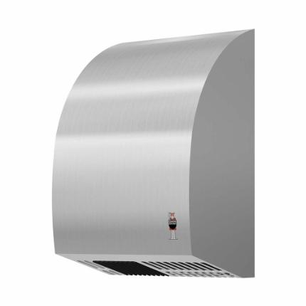 281-stainless DESIGN mini hand dryer, brushed stainless steel