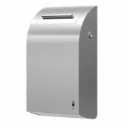 283-stainless DESIGN sanitary bin, 7 l