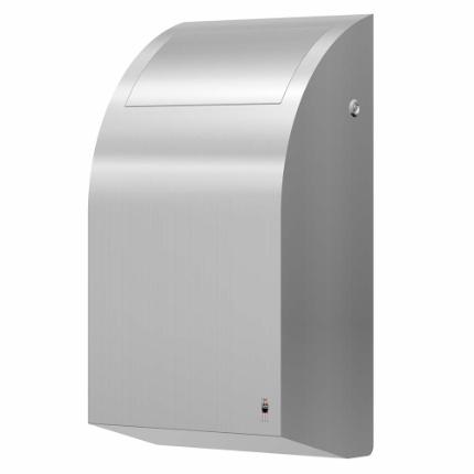 284-stainless DESIGN waste bin, 30 l