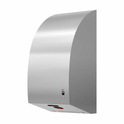 288-Stainless Design TURBO HAND DRYER, stainless steel