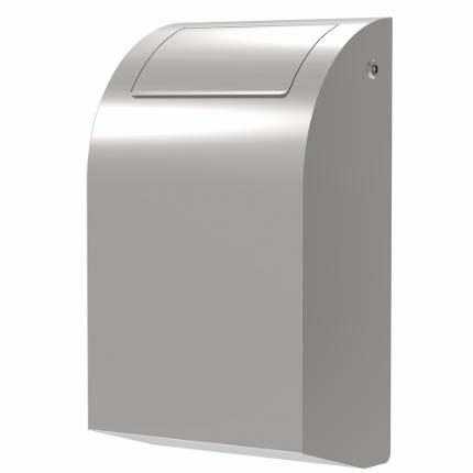 292-Stainless Design waste bin, 30 l