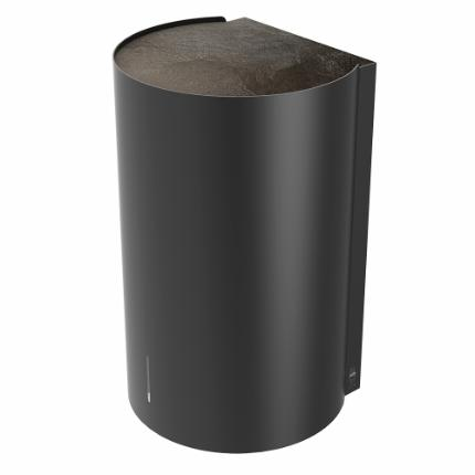 3016-Björk hand dryer, 110V, black, w/slate top plate
