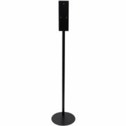 3135-Floor stand for hand disinfectant dispenser, black