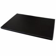 3237-baby changing mat, black pu-leather