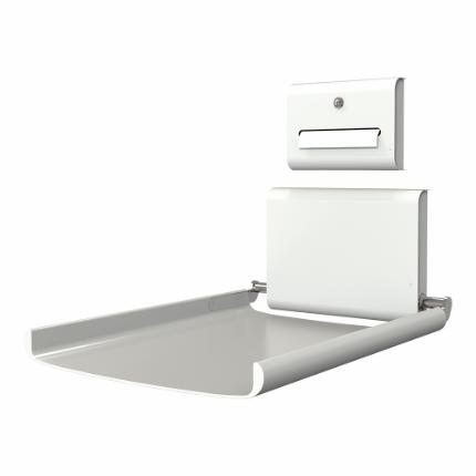 3250-paper dispenser for björk baby changing station 3200