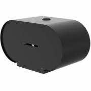 3376-Björk double-x toilet roll holder, black