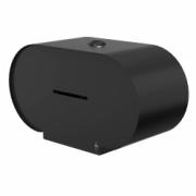 3375-Björk toilet roll holder double, black