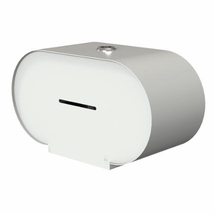 3370-Björk toilet roll holder double, white