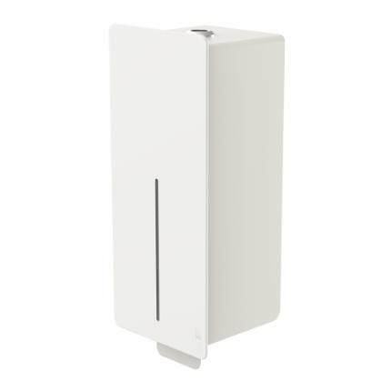 4042-LOKI manual dispenser for soap/disinfectant, white