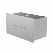 4070-LOKI toilet paper dispenser for 2 standard rolls, stainless steel