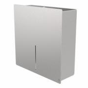 4080-LOKI toilet paper dispenser for 1 jumbo roll, stainless steel