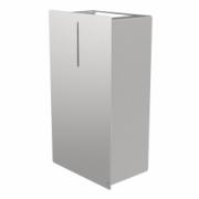 4090-LOKI waste bin, 23 l, stainless steel