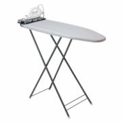 412-Ironing center w/dry iron, grey