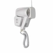 714-ELEGANCE hair dryer with shaver plug, shock-proof plastic