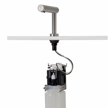 376-SOAPTAP DECK-MOUNTED soap dispenser for liquid soap, touch-less