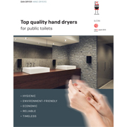 High quality electric hand dryers for commercial & public use