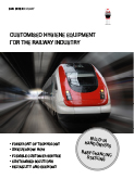 Customized Hygiene Equipment & Solutions for Integration in Railway Vehicles and the railway industry