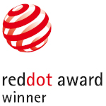 Björk matte black hand dryer is Red Dot Award Winner